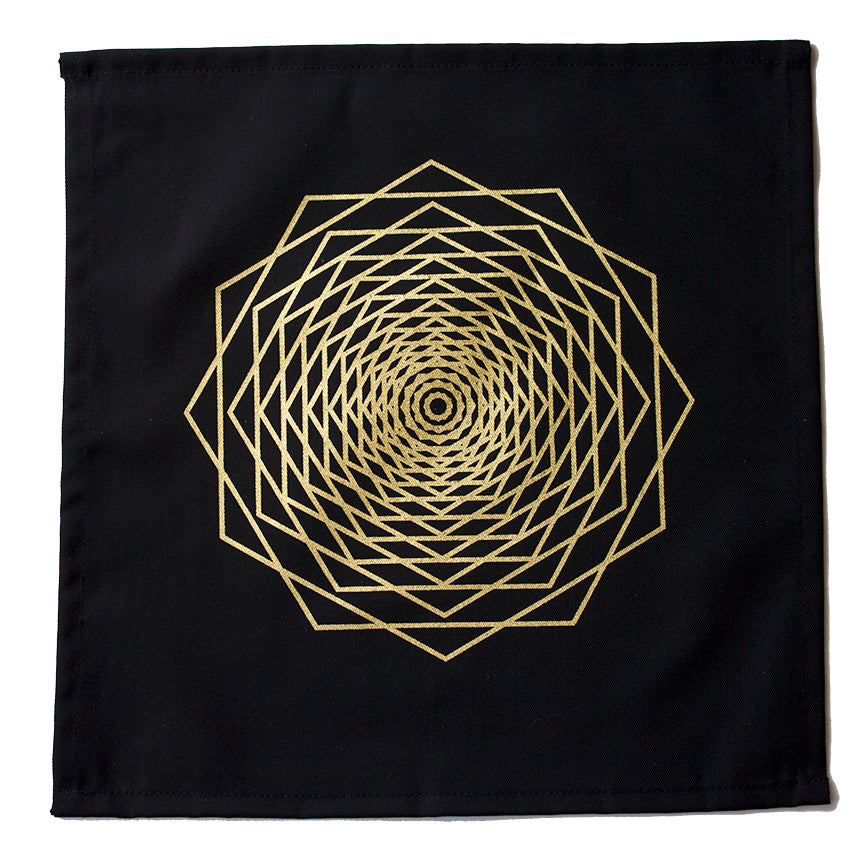 Cloth Hexagon Crystal Grid