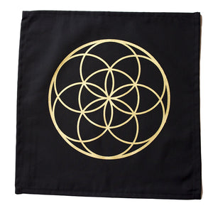 "Cloth ""Seed of Life"" Crystal Grid - Happy Soul Online"