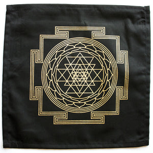 "Cloth ""Sri Yantia"" Crystal Grid - Happy Soul Online"