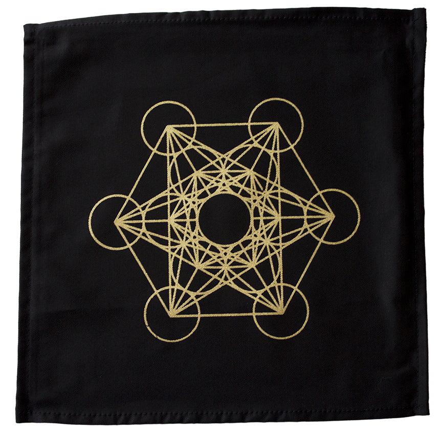Cloth Metatron's Cube Crystal Grid