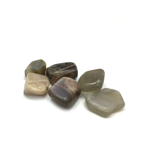 Black Moonstone Tumbled Crystal - Happy Soul Online