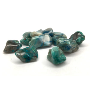 Chrysocolla Tumbled Crystal Small - Happy Soul Online
