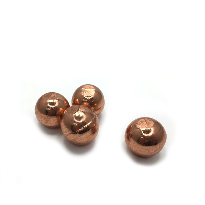 Copper Metal Ball Large
