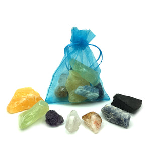 Chakra Raw Crystal Set Happy Soul Online