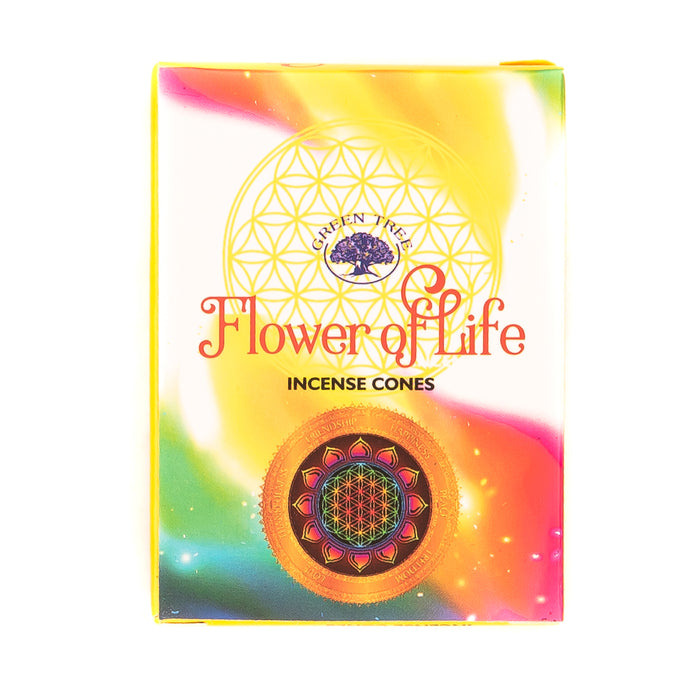Incense - Flower of Life Cones