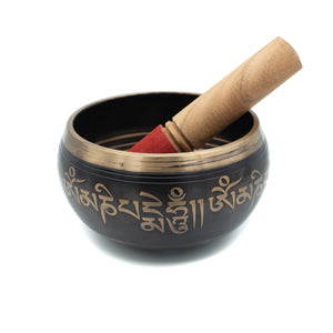 Ancient Script Singing Bowl 4-5""