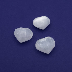 Selenite Heart $12