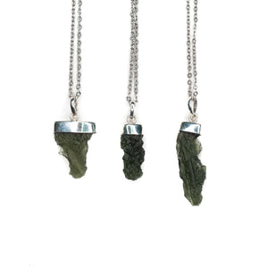 Necklace - Moldavite Pendant $150