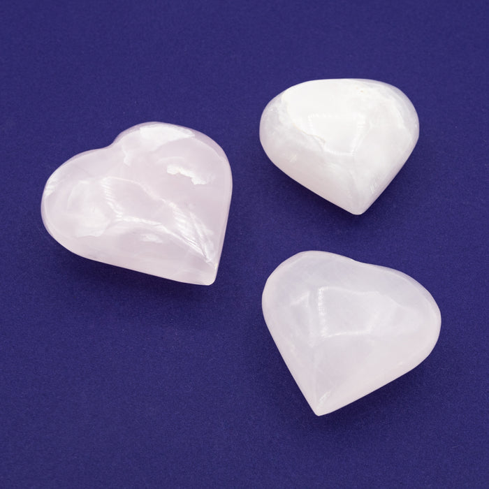 Calcite - Pink Heart $25