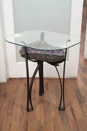 Amethyst Cluster Table