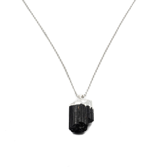 Necklace - Tourmaline (Black) Raw $30
