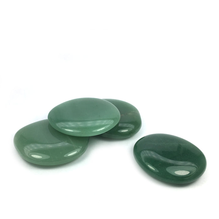 Green Aventurine Crystal Palm Stone