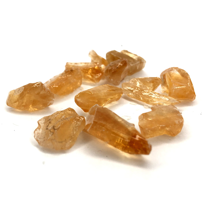 Honey Calcite Raw Crystal