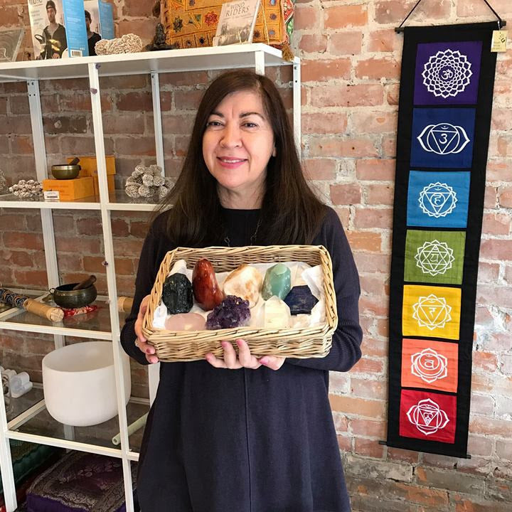 Certified Crystal Energy Healing with Graciela Gabica