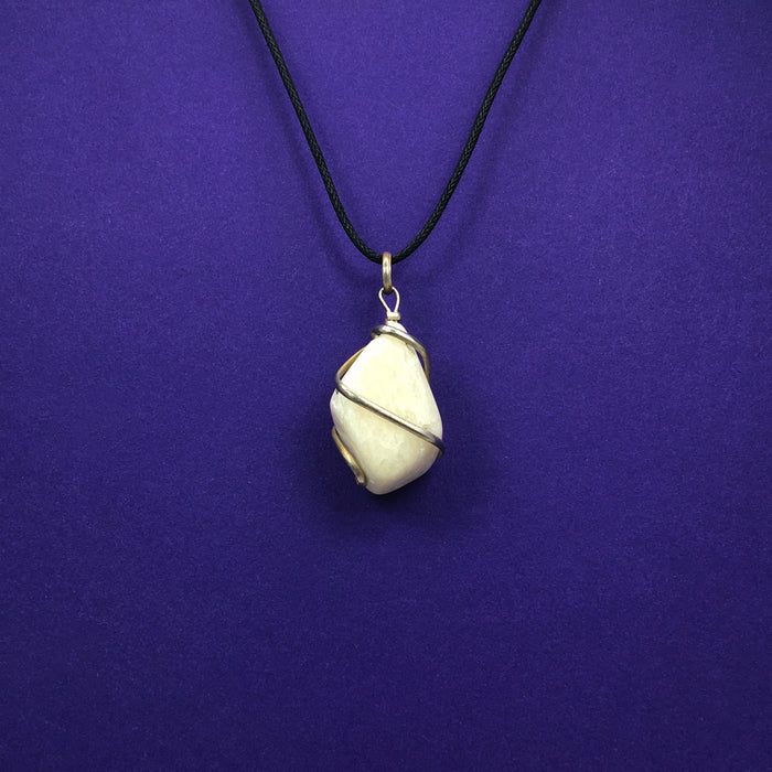 Moonstone Crystal Necklace