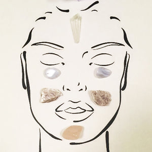 Relax & De-Stress Facial Grid Crystal Set