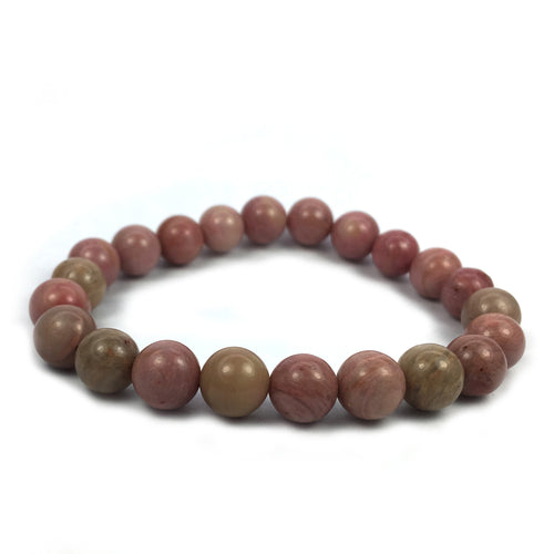 Rhodonite Crystal Bracelet Happy Soul Online