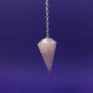 Rose Quartz Crystal Pendulum Happy Soul Online