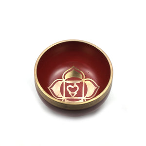 Tibetan Singing Bowl Gift Set - Red (Root/Support Chakra) Happy Soul Online