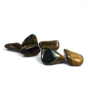 Tiger's Eye Tumbled Crystal Happy Soul Online