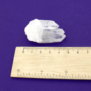 Clear Quartz Extra Clear Cluster $20