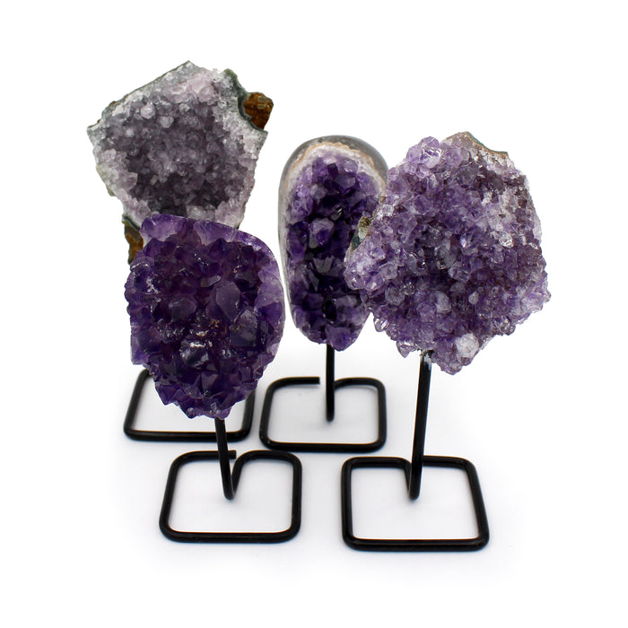 Amethyst Cluster on Stand