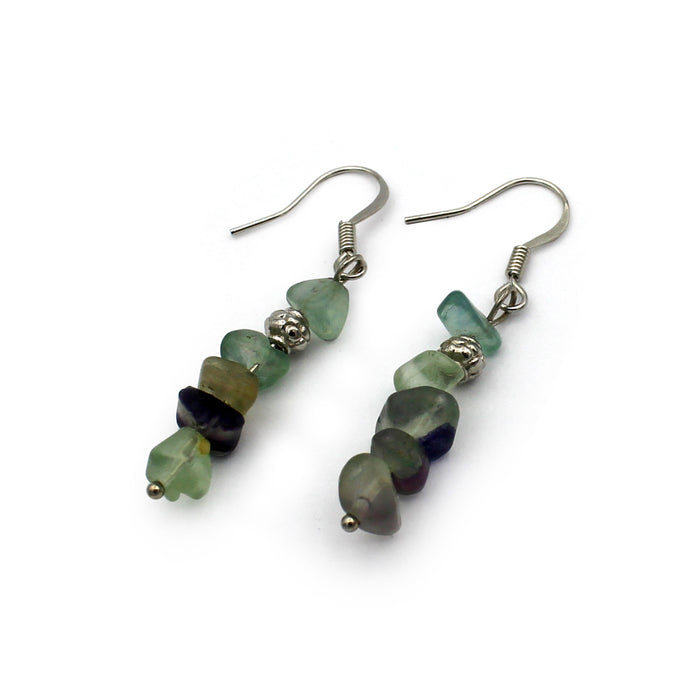 Earrings - Fluorite