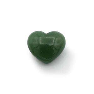 Aventurine - Green Puffy Heart $20