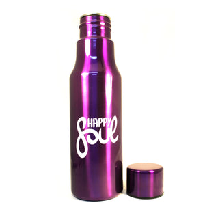 Happy Soul Stainless Steel Water Bottle - Happy Soul Online