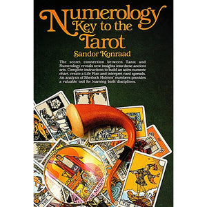 Numerology: Key to the Tarot by Sandor Konraad