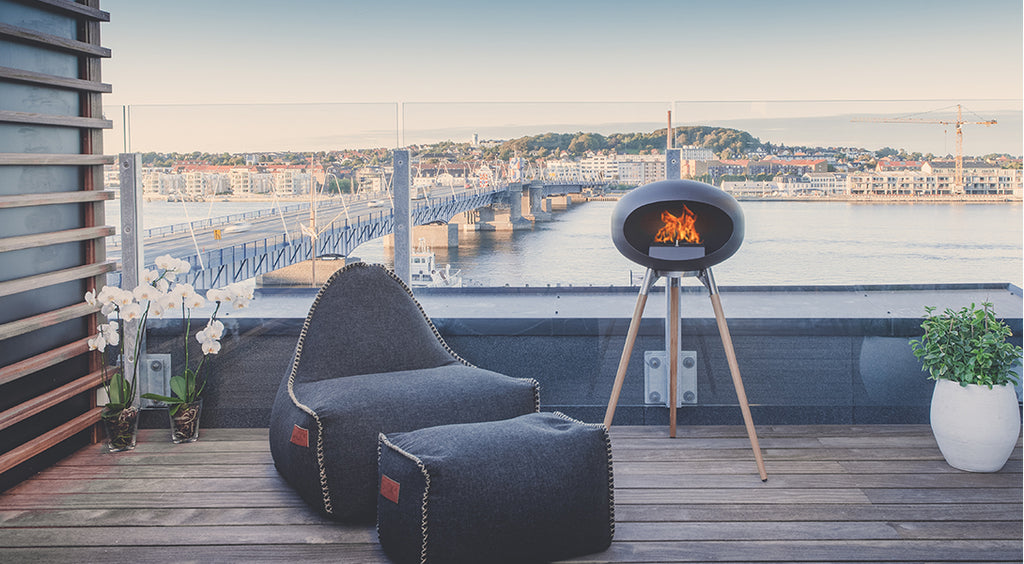 Bio-ethanol fireplace: The best way to keep your house warm and garden parties cozy