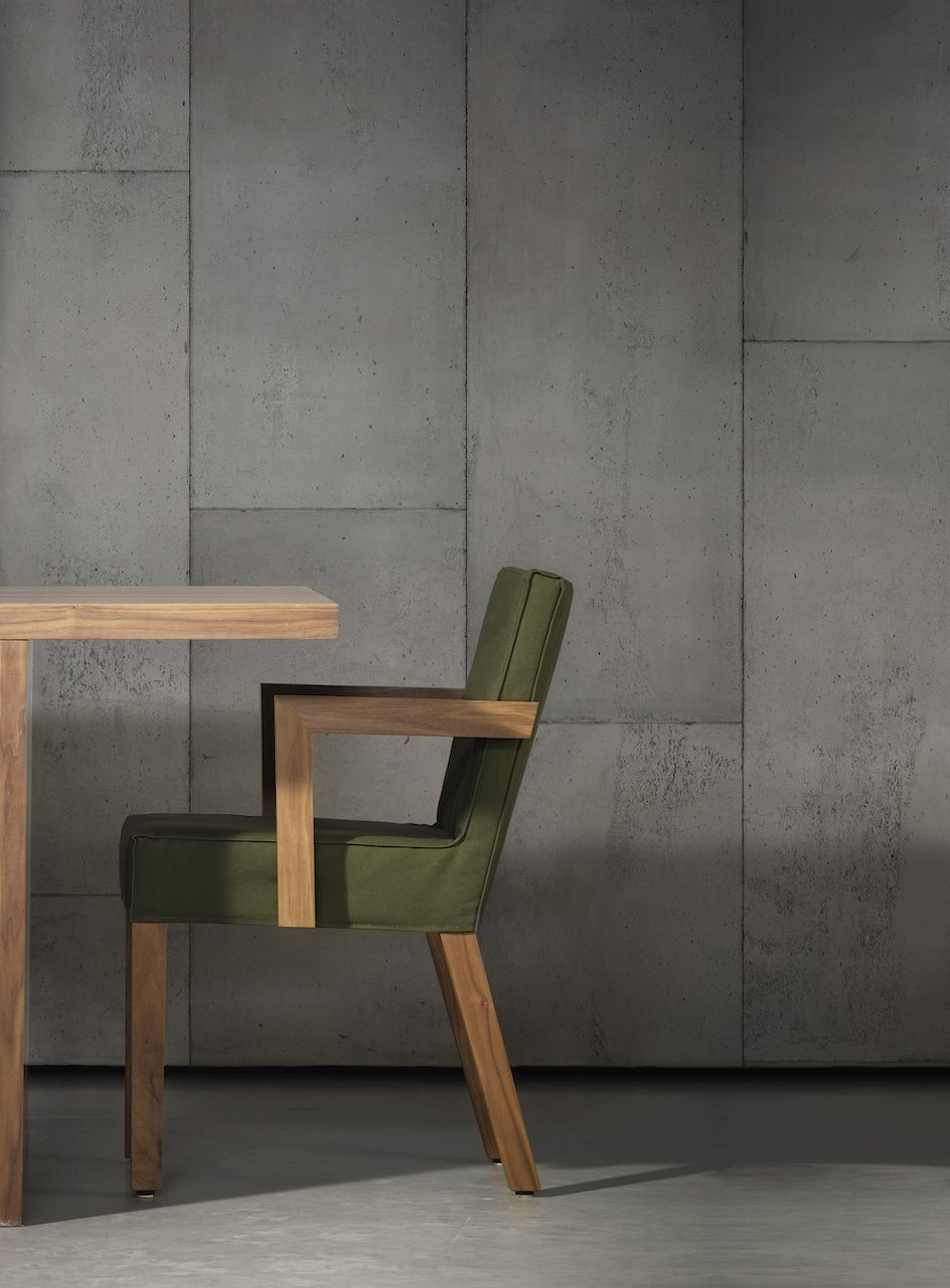Wallpaper - Large Grey Tiles by Piet Boon