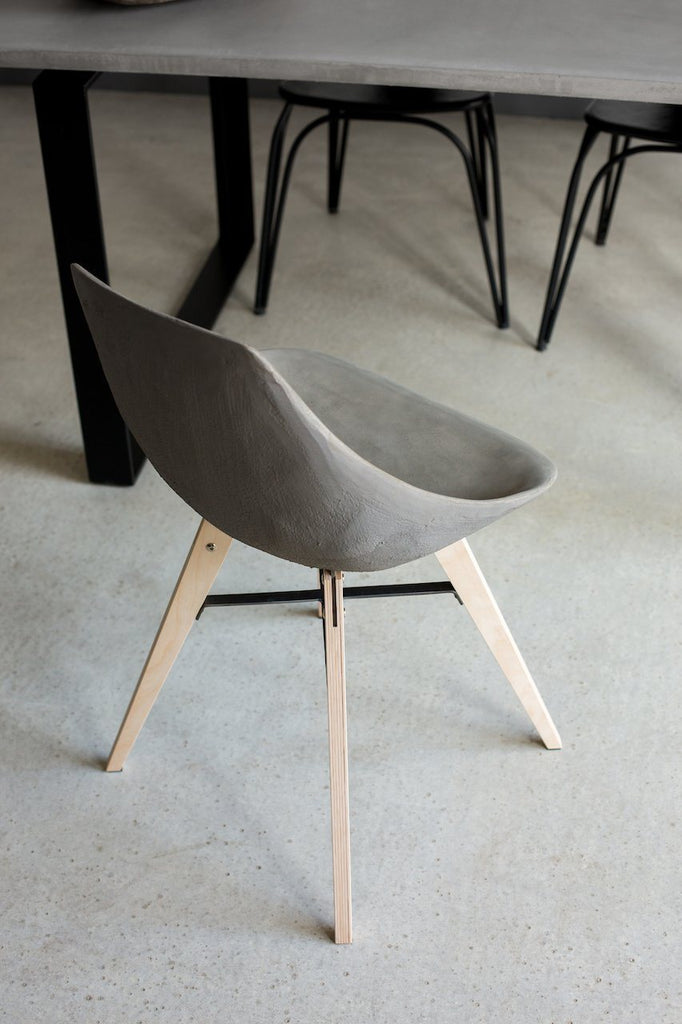 Hauteville Chair with Plywood Feet | Banbayu