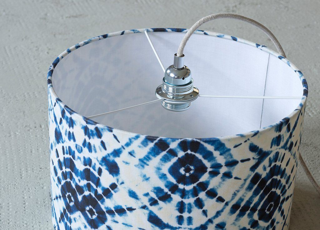 Shibori Swirls Drum Shade | Banbayu