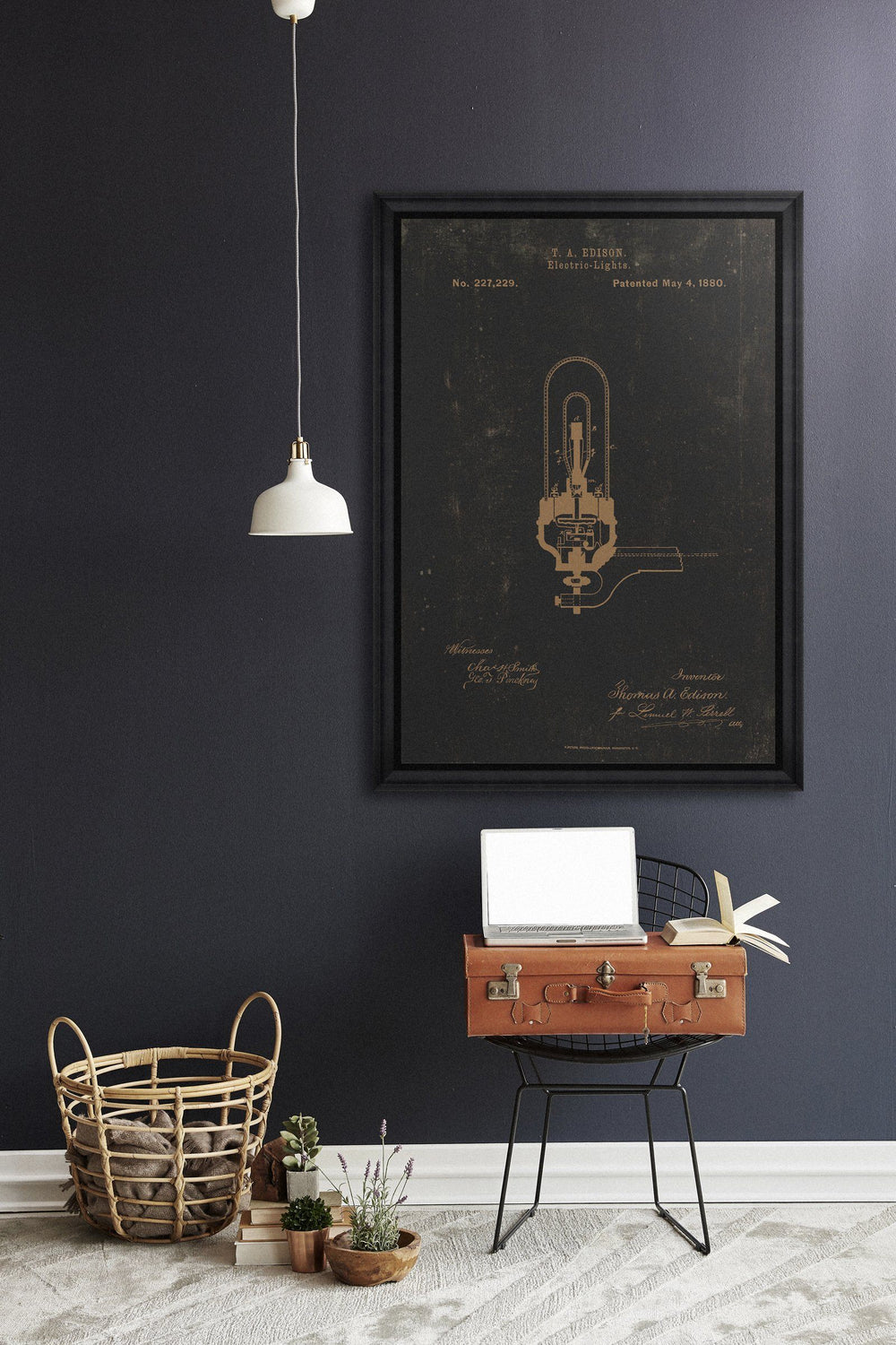 Wall Art - Edison Electric Light