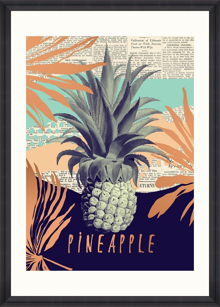 Wall Art - Be Pineapple