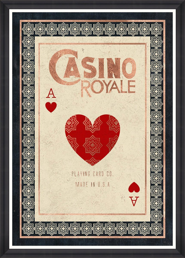 Wall Art - Casino Royale