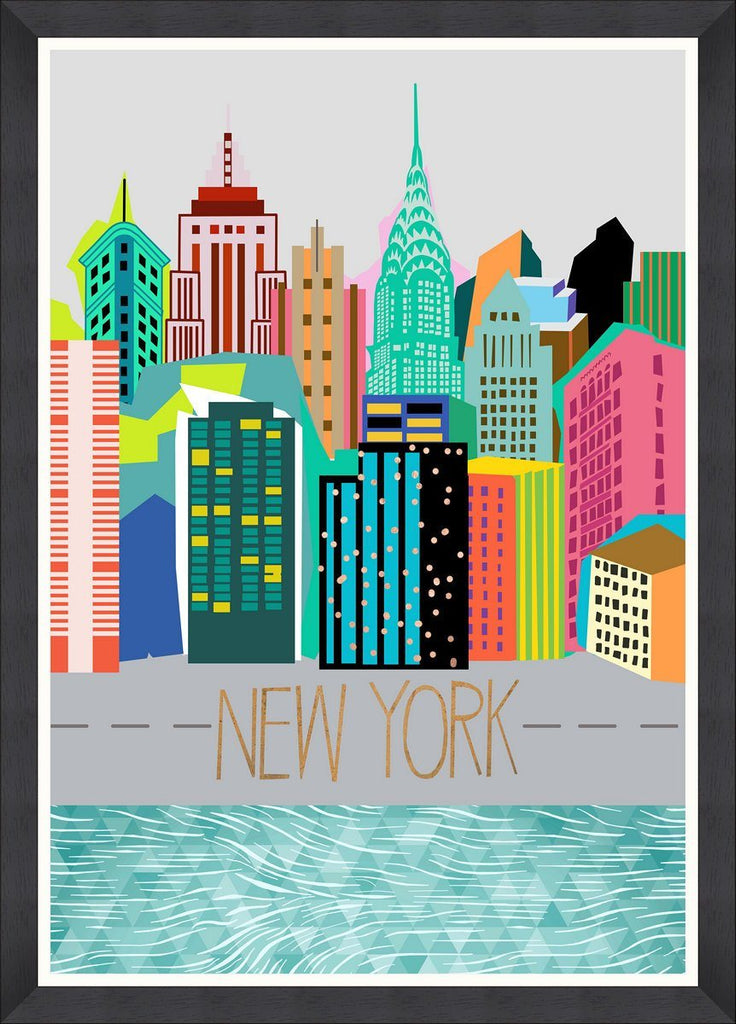Wall Art - Colours of NY