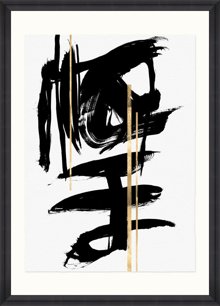 Wall Art - Gestural Abstraction I