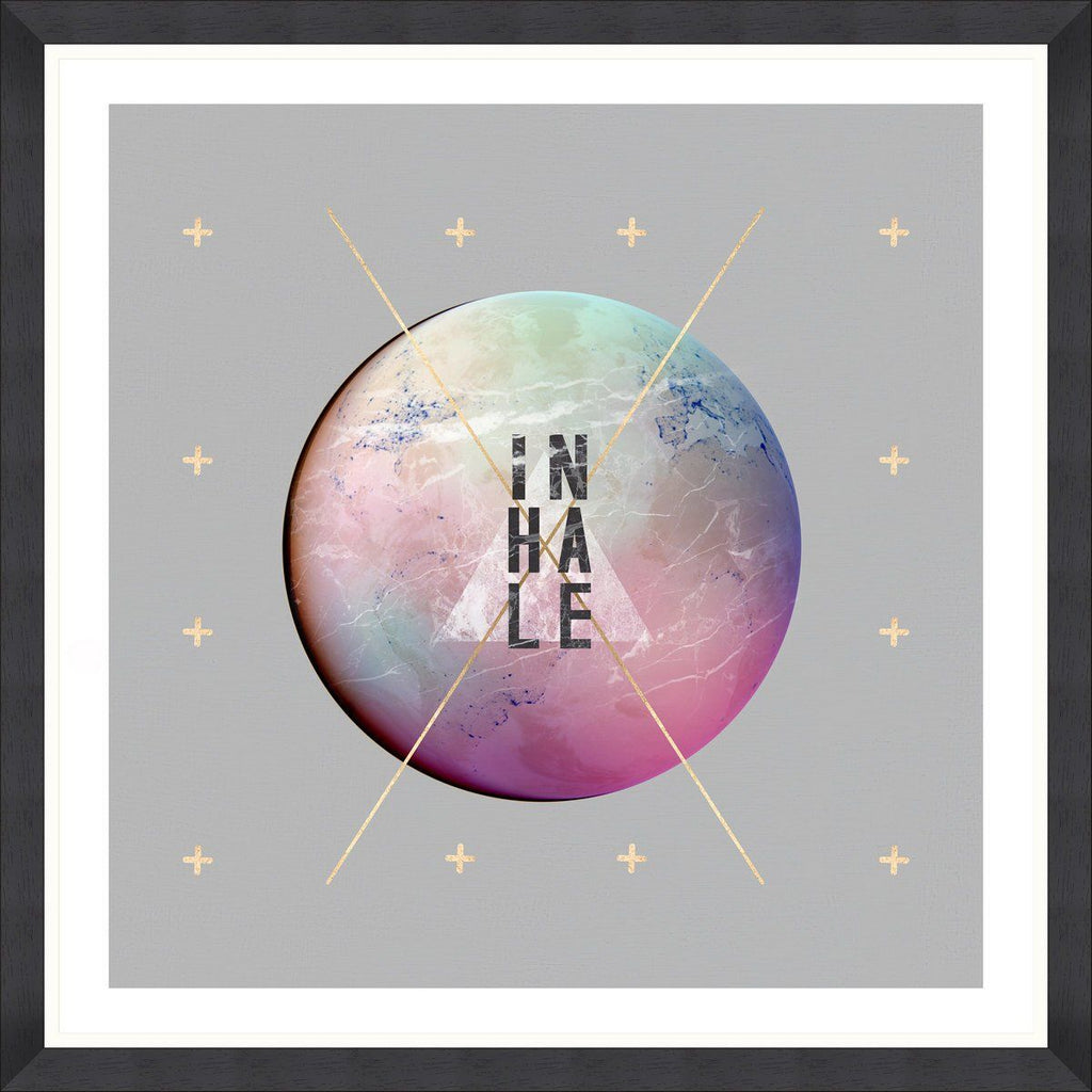 Wall Art - Inhale
