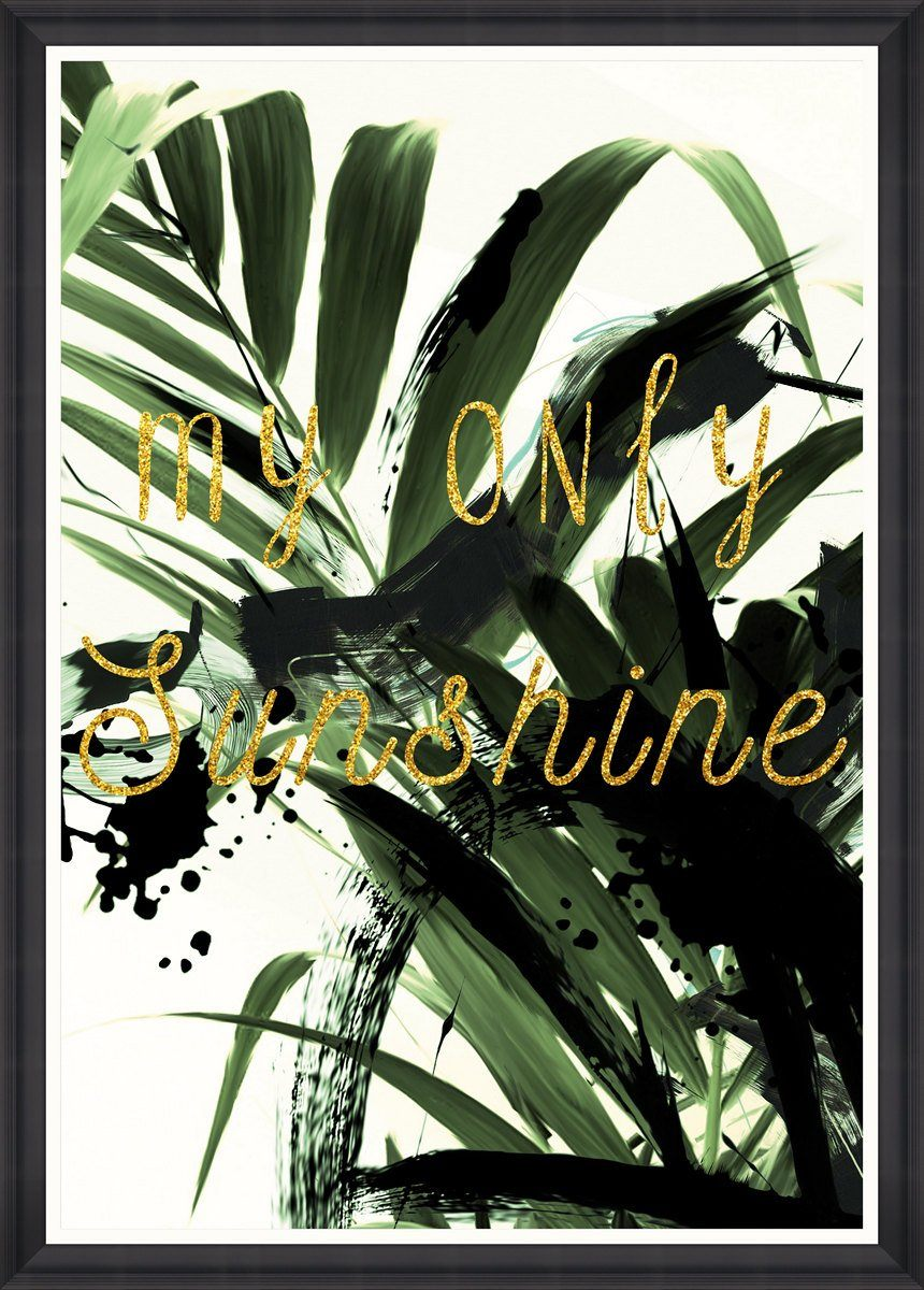 Wall Art - My Only Sunshine