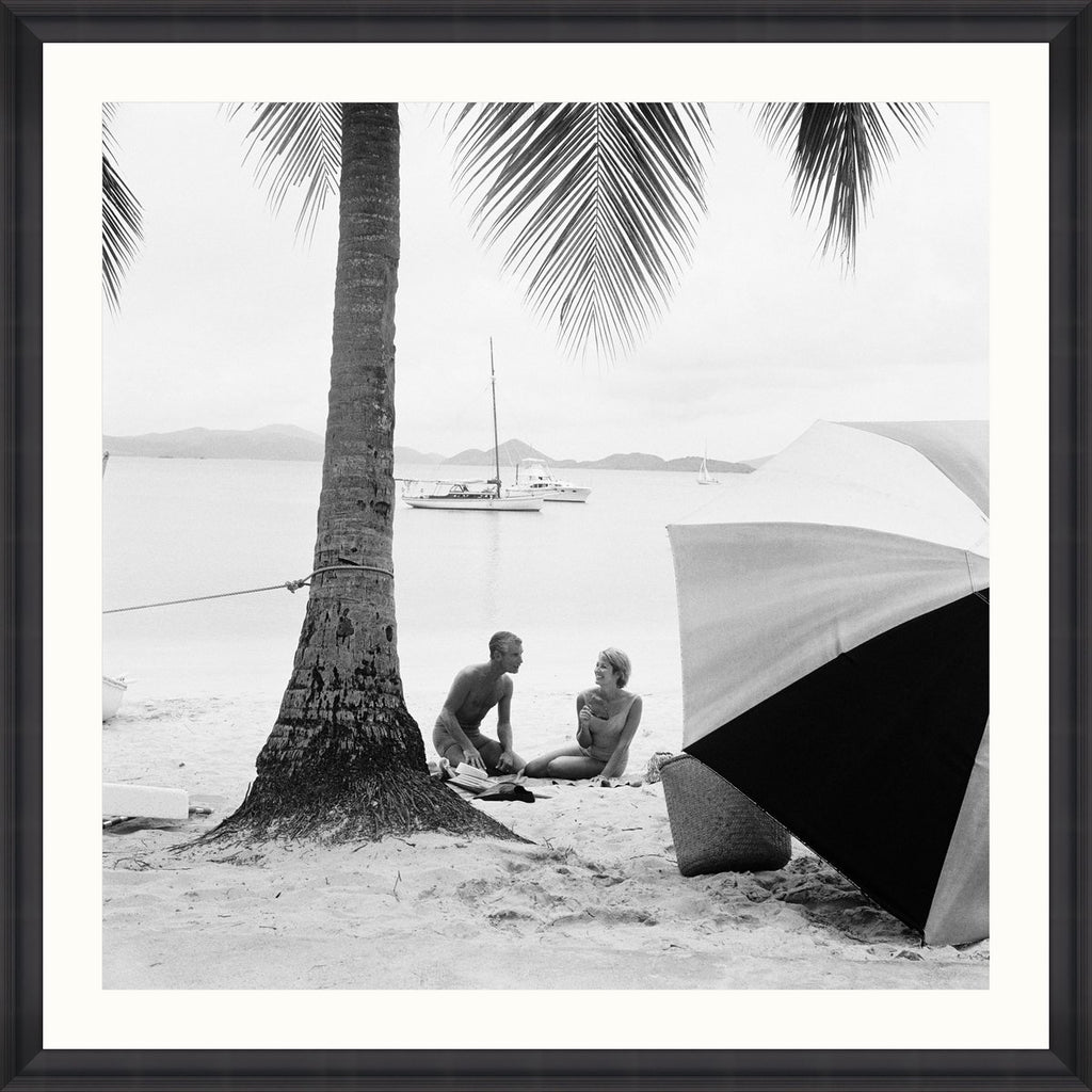Wall Art - On the Beach by Kelley Archive