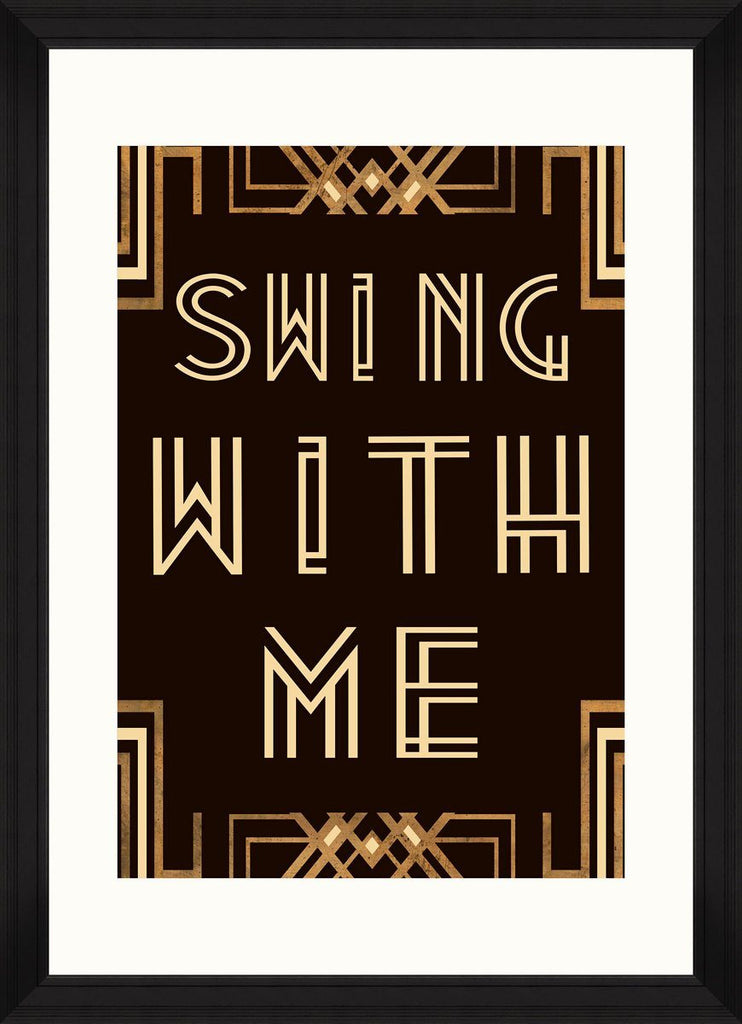 Wall Art - Swing with Me