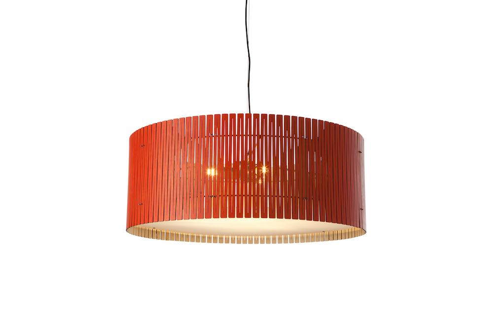 Kerflight D9 Pendant Light Natural Lava