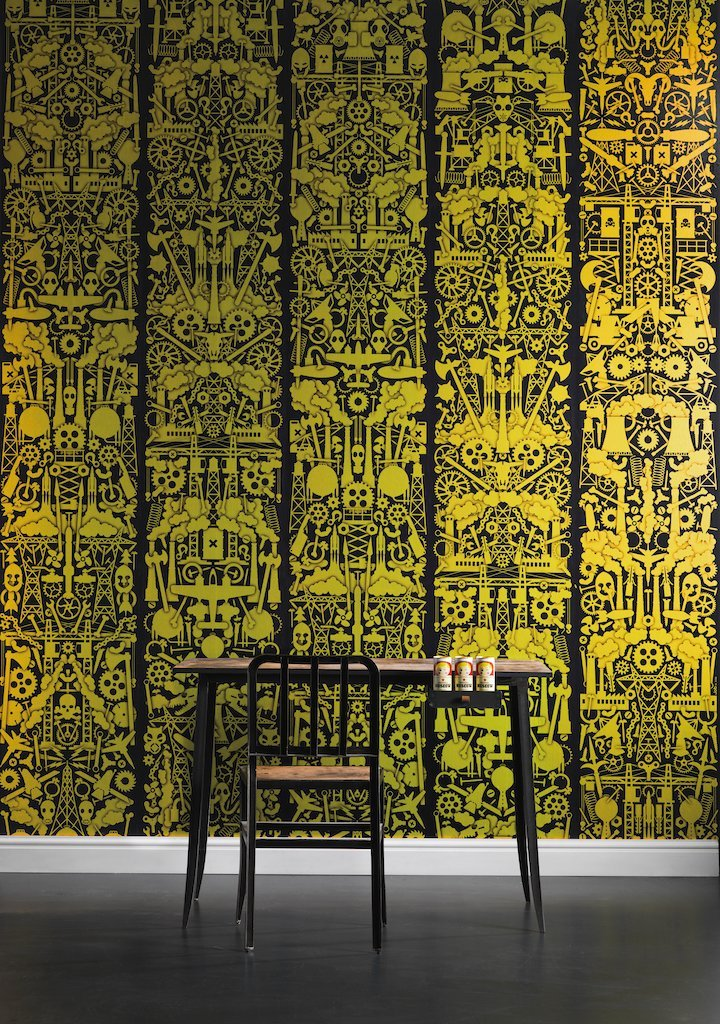 Wallpaper - Robber Baron by Studio Job