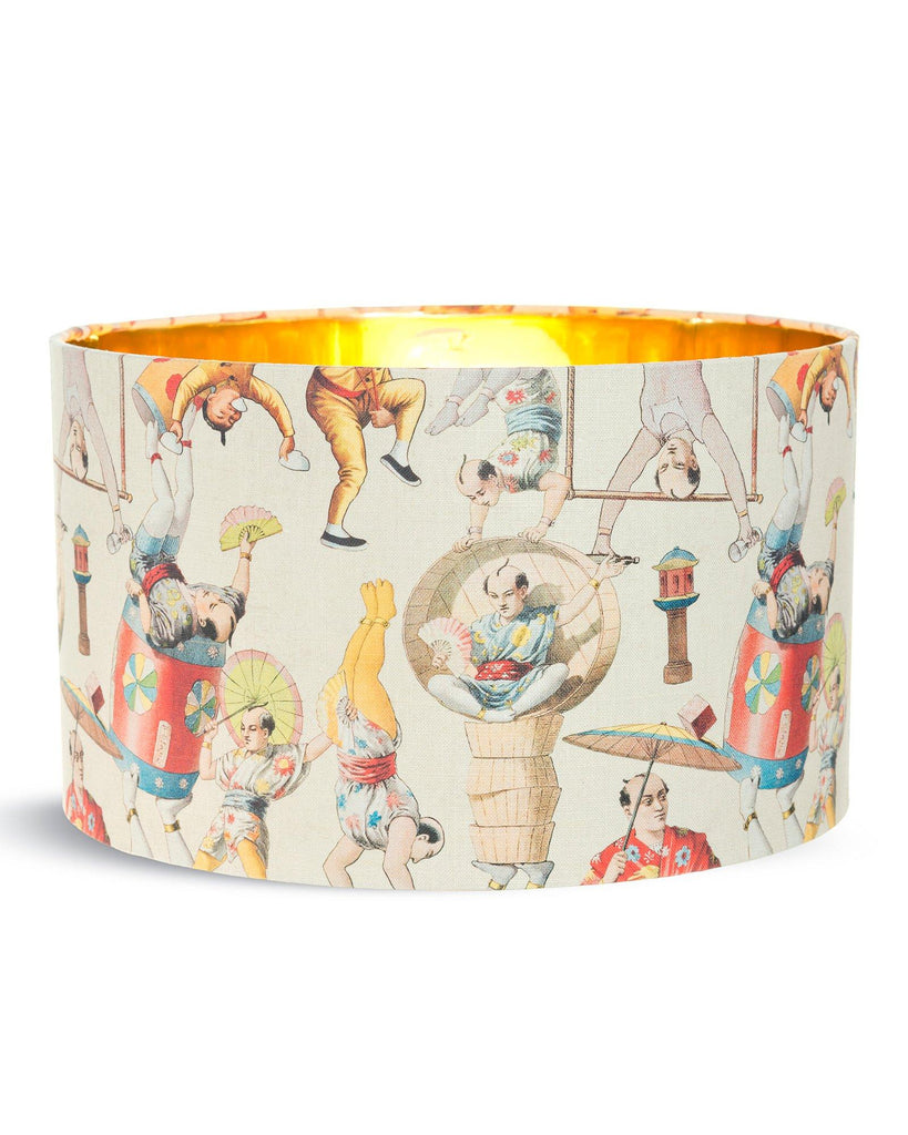 Asian Circus Drum Shade | Banbayu