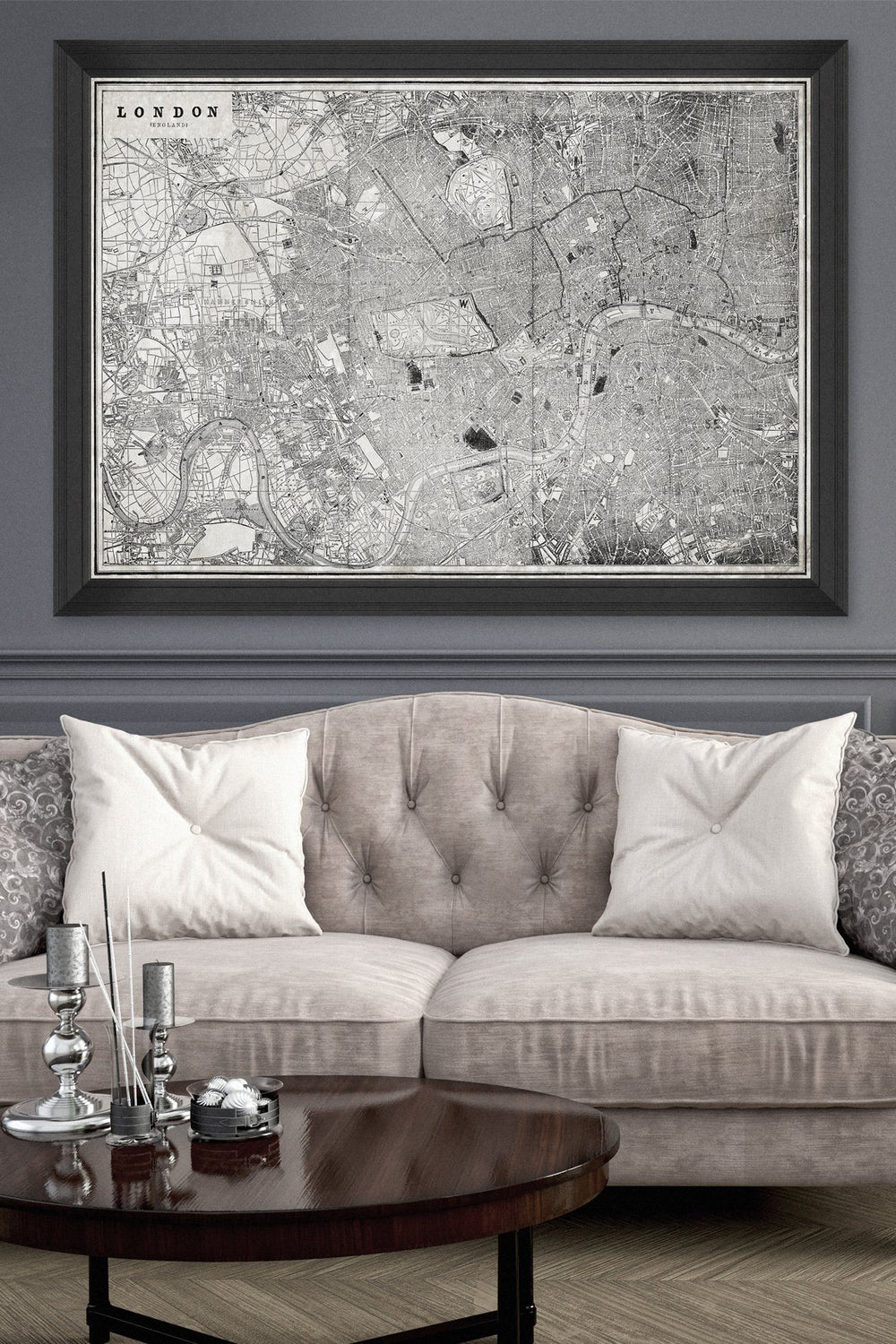 Wall Art - London Map