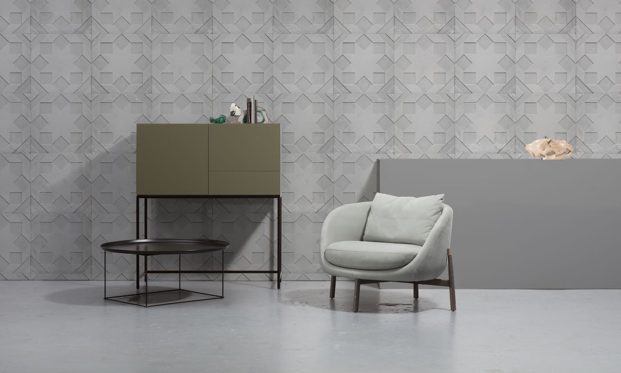 Wallpaper - Moulded Star by Nada Debs