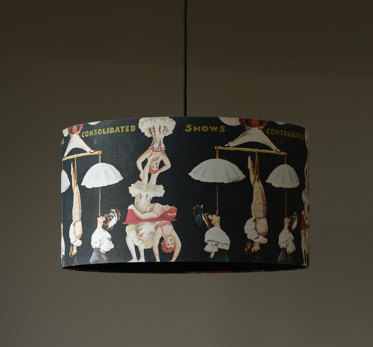 The Great Show Black Pendant Light