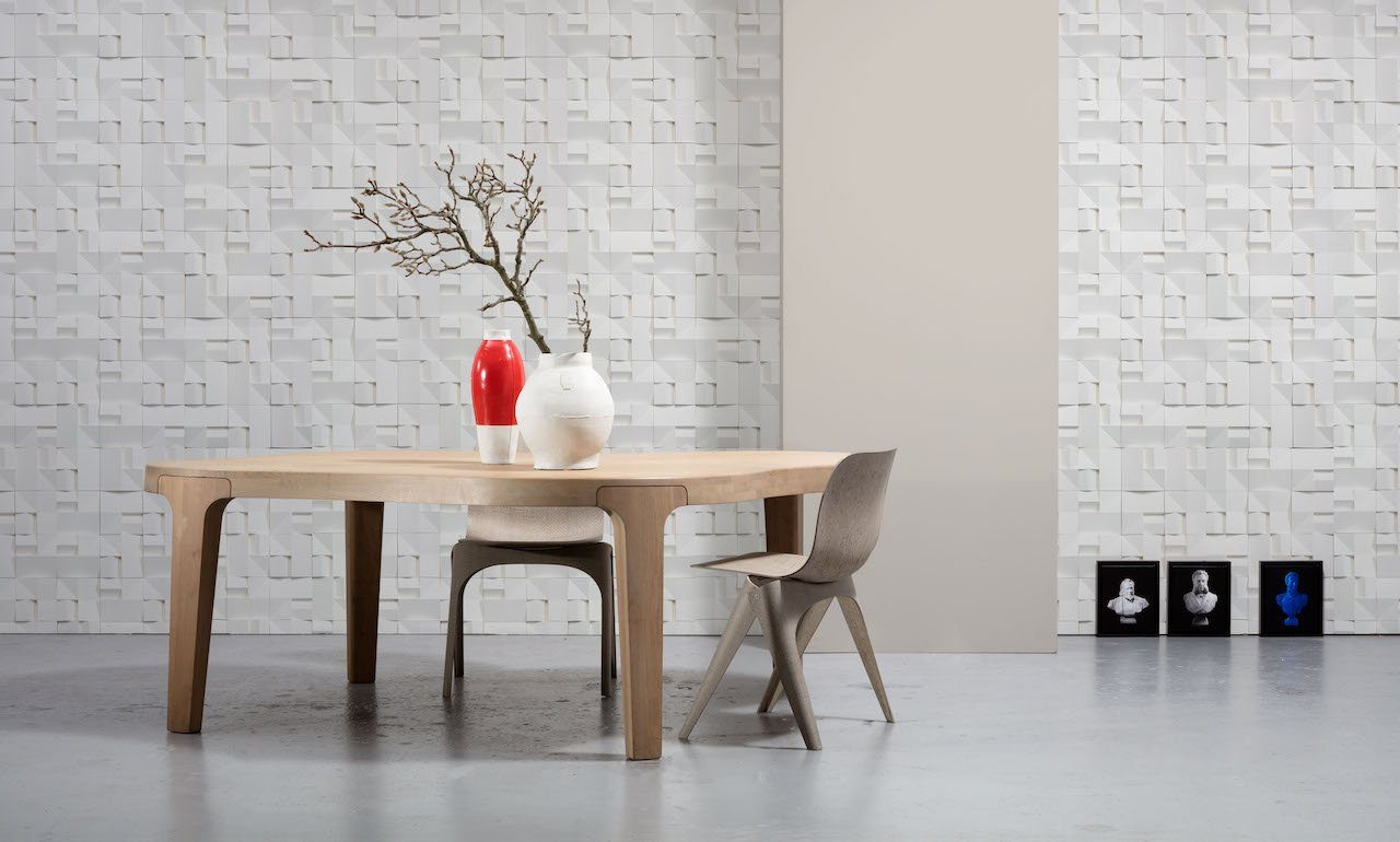 Wallpaper - House Ceramics by Studio Roderick Vos